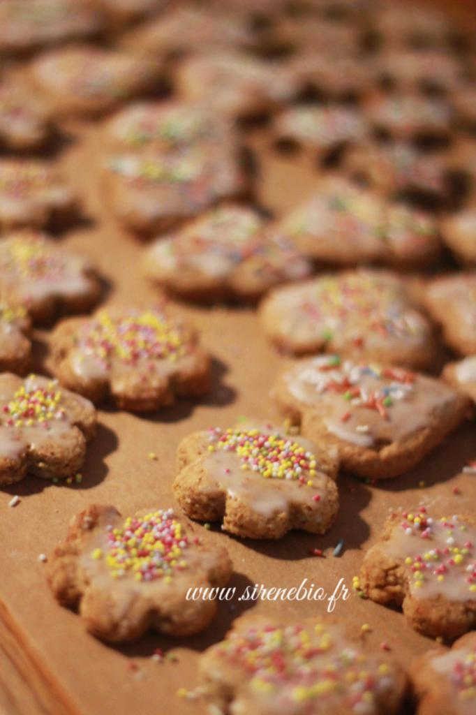 Recette de biscuits de noel au citron