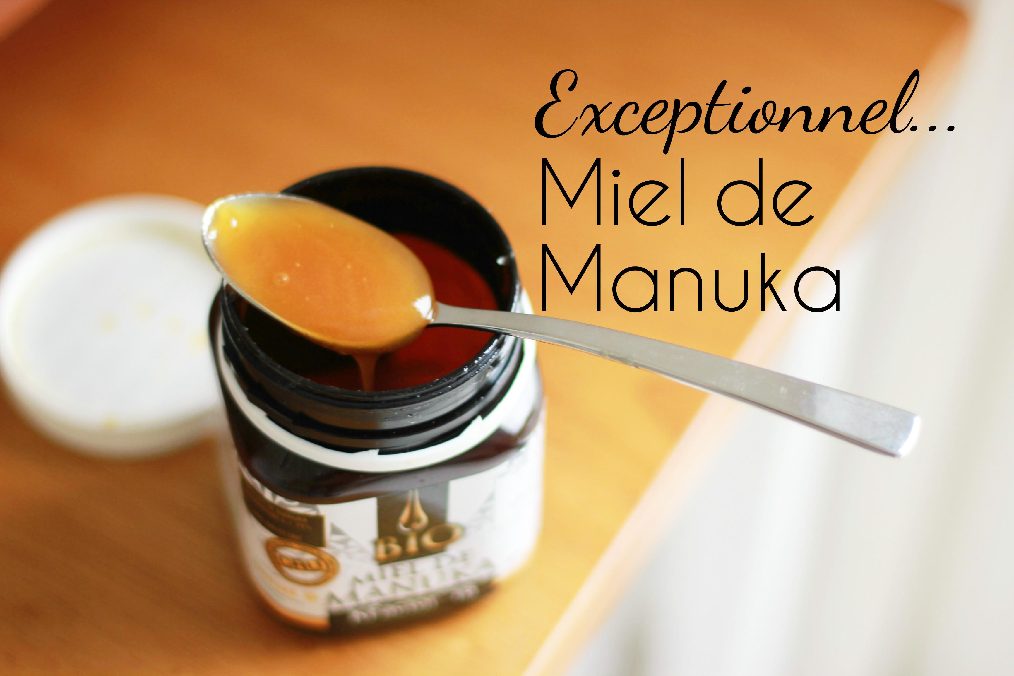 miel de manuka bio bienfaits