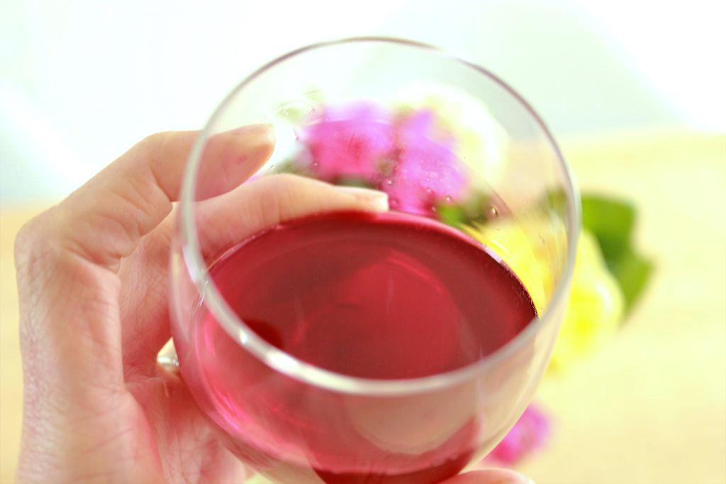 Vin rouge santé