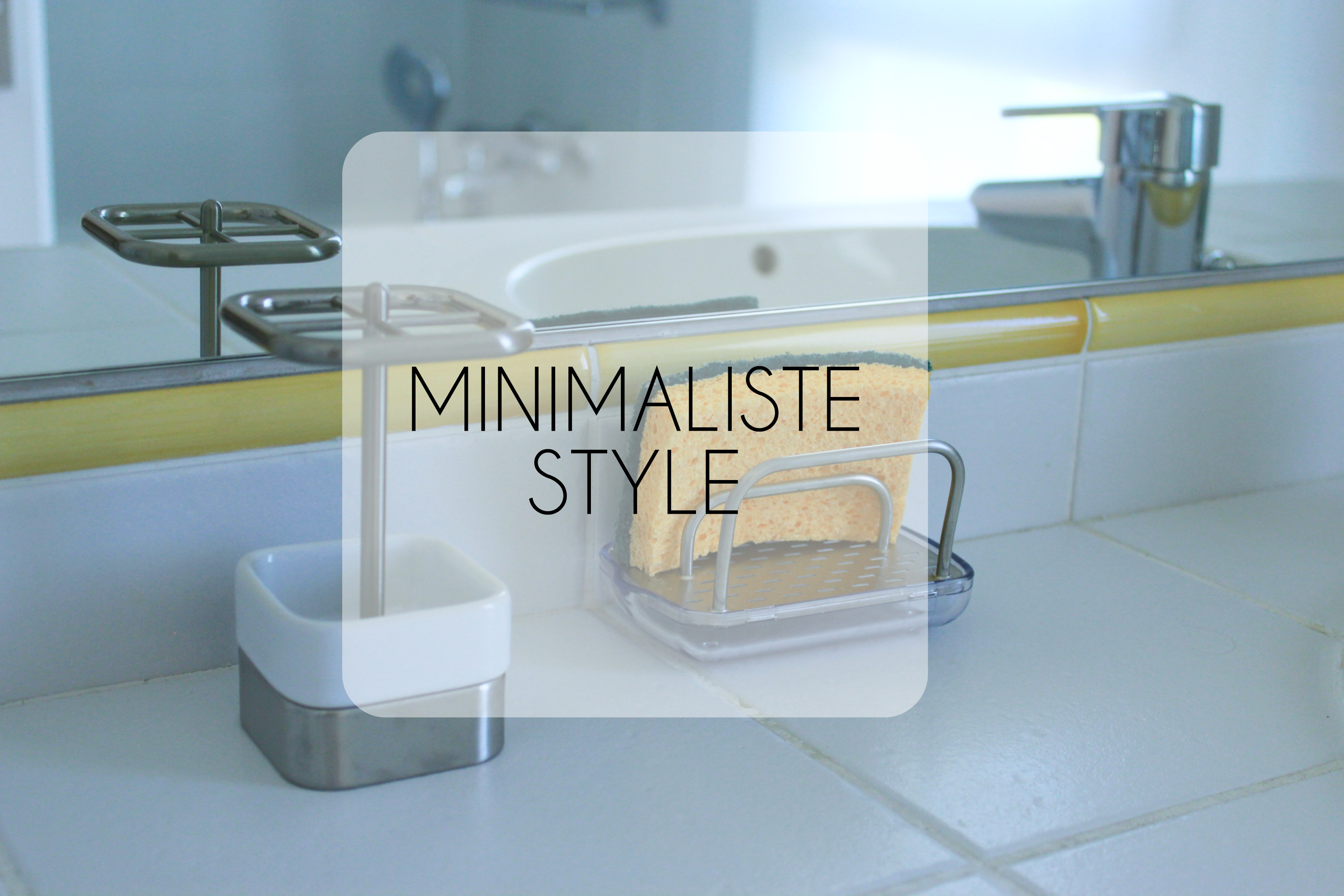 Minimaliste style mes derniers achats for Oui non minimaliste