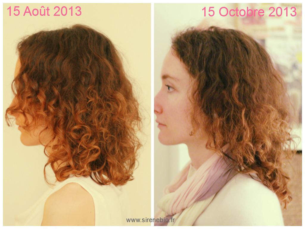 Pousse des cheveux en 1 mois
