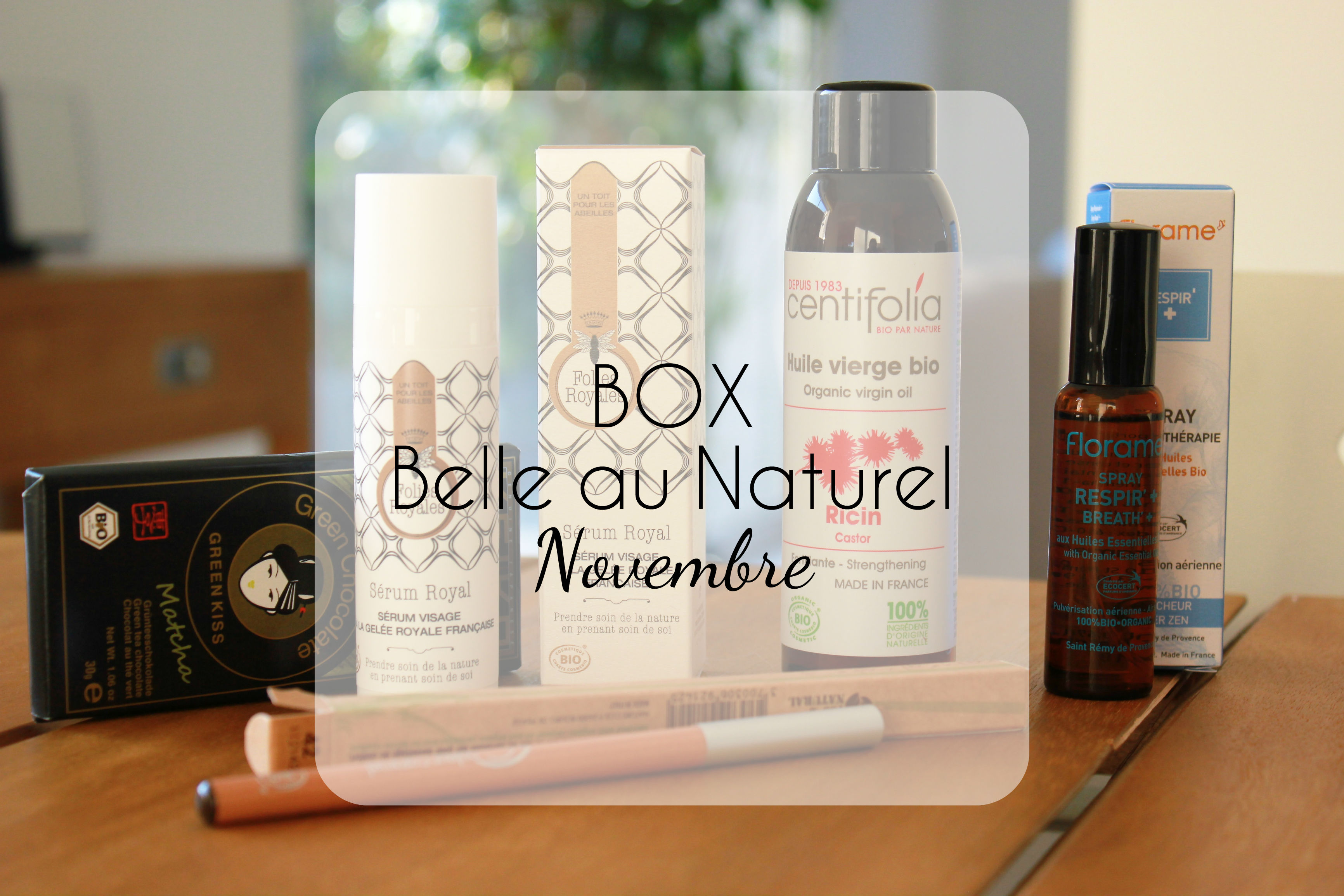 Box Belle au Naturel